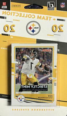 Pittsburgh Steelers 2020 Donruss Factory Team Set Roethlisbe
