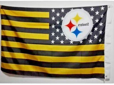 pittsburgh steelers 3 x 5 banner nfl
