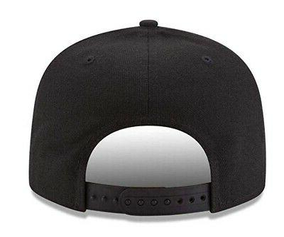Pittsburgh New 9Fifty Black White Adjustable Snapback Hat