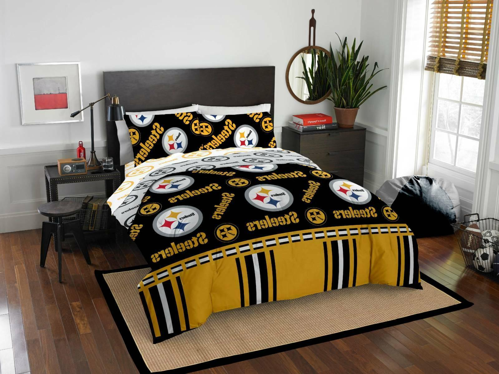 pittsburgh steelers bed in a bag queen