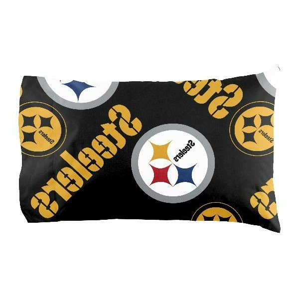 Pittsburgh Steelers Bag Set Comforter Pillowcase Twin