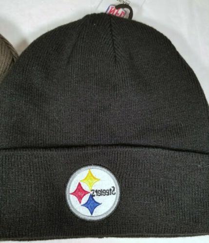 Pittsburgh Steelers or Gray Unisex Beenie Winter