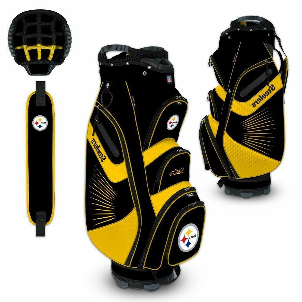 pittsburgh steelers bucket ii cooler cart golf
