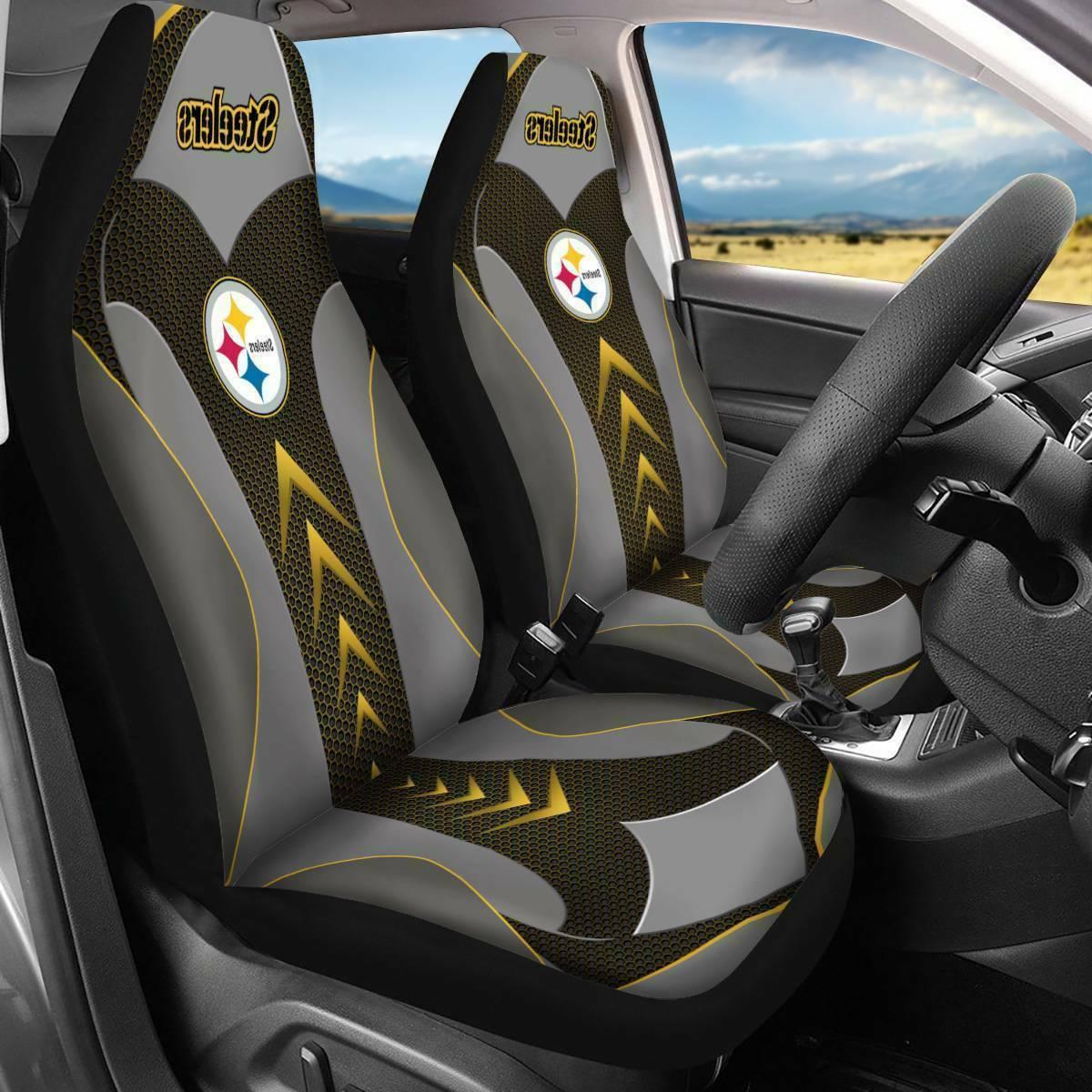 US Pittsburgh Steelers Universal Fit Car/Pickup truck Seat C