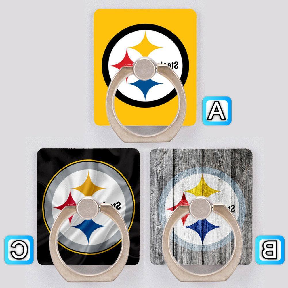 pittsburgh steelers cell phone holder ring stand