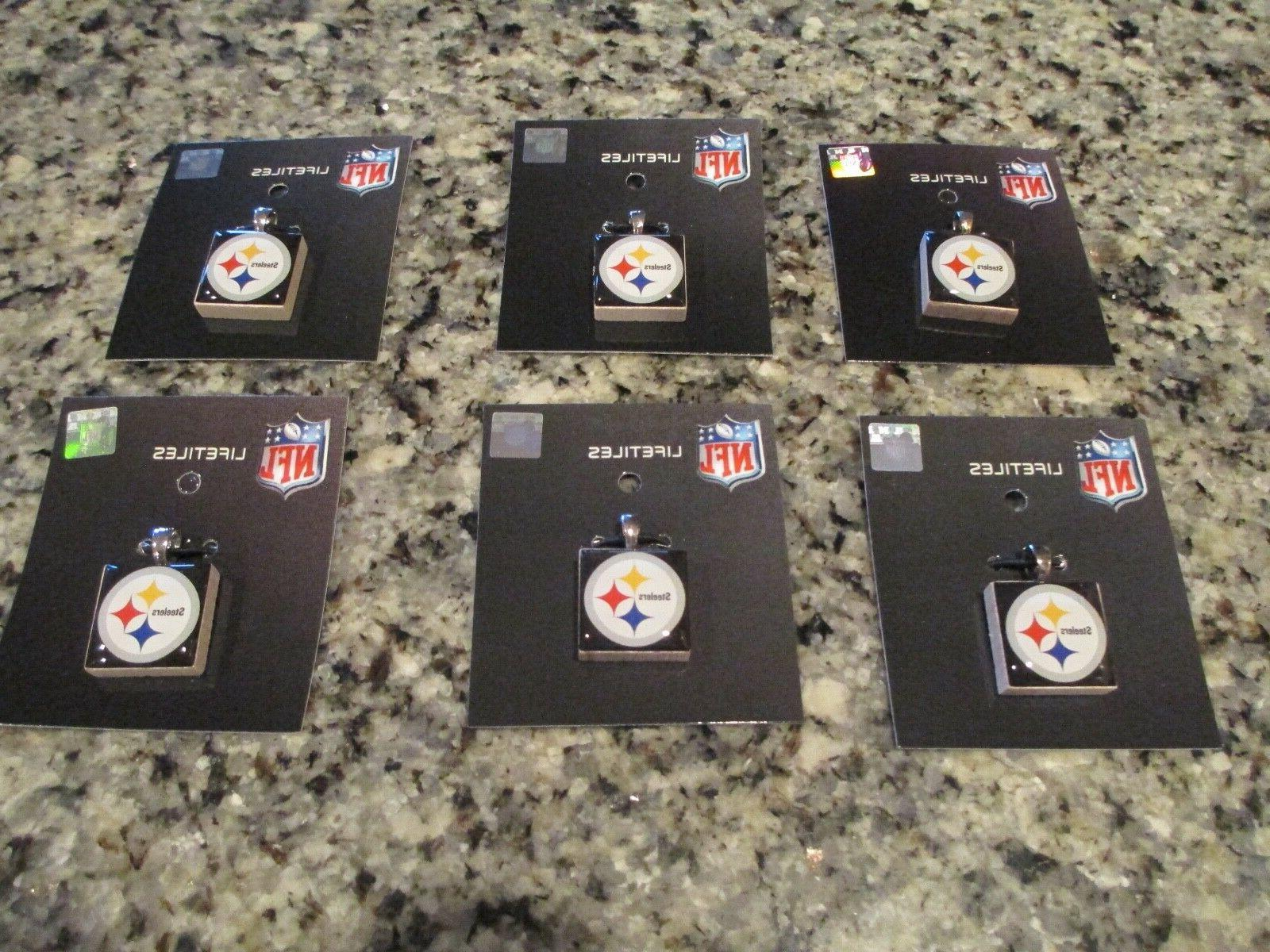 pittsburgh steelers charms pendants lifetiles by lot