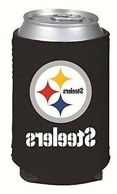 Pittsburgh Steelers Drink Coolie Can Holder Cooler Choose Si