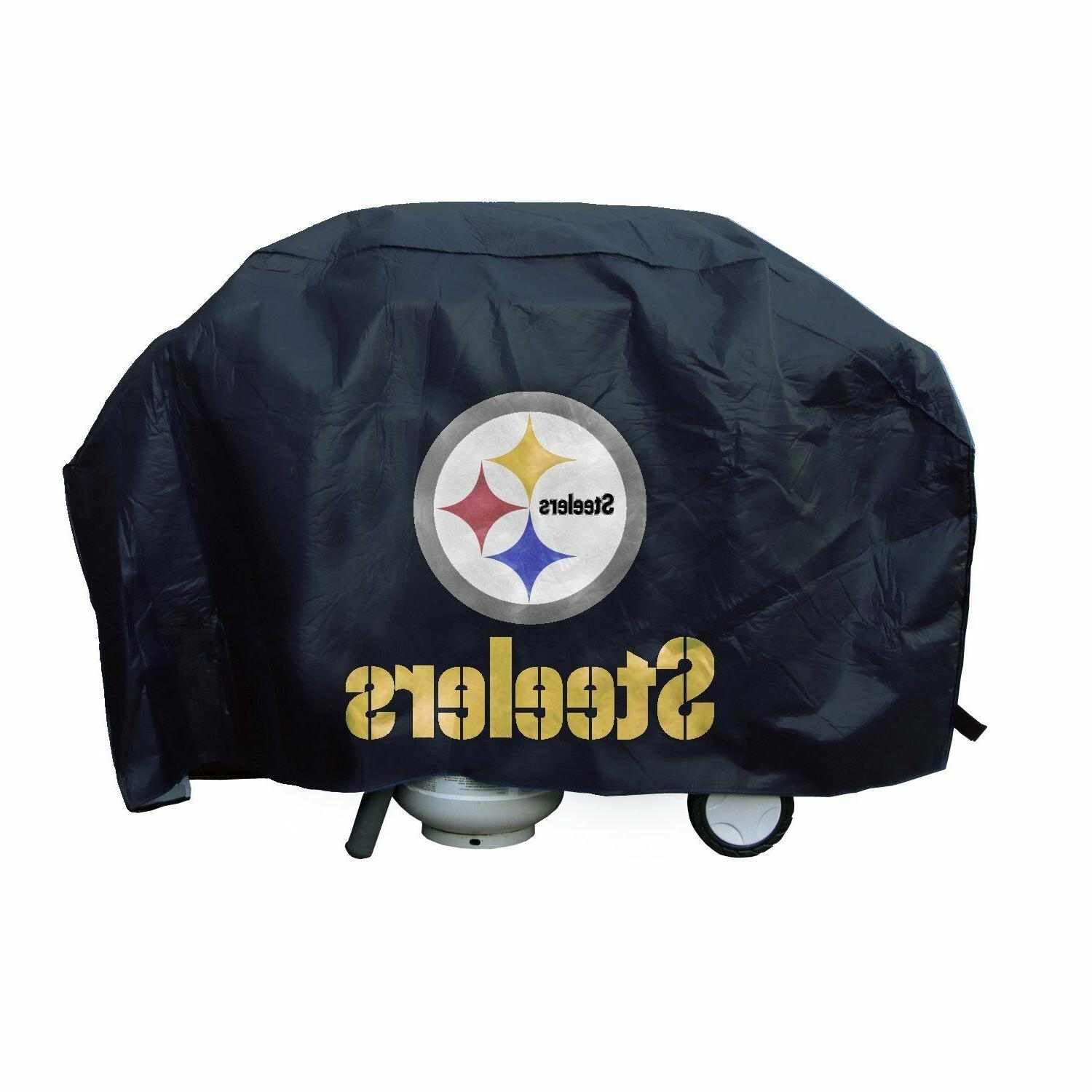 pittsburgh steelers economy grill cover bbq gas