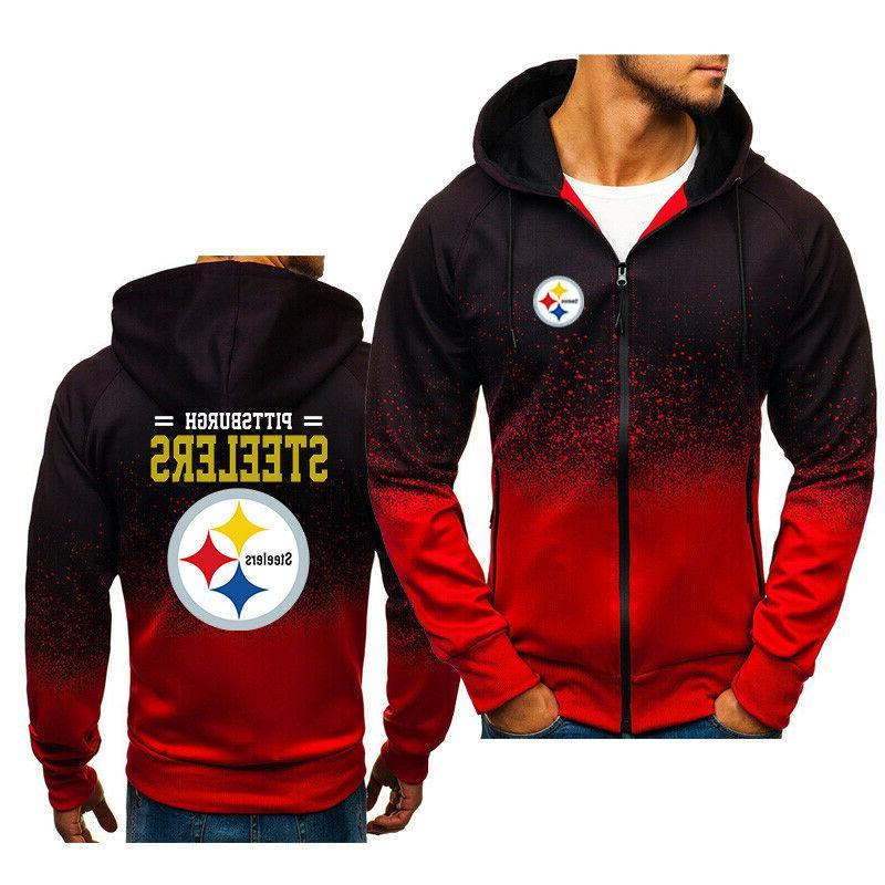 Pittsburgh Jacket Sporty Coat Autumn Tops