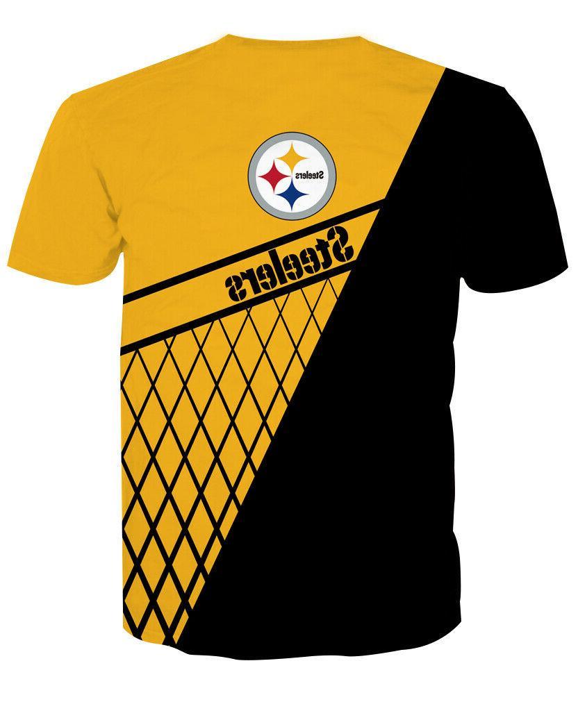 Pittsburgh Steelers Sports Short Tee Top