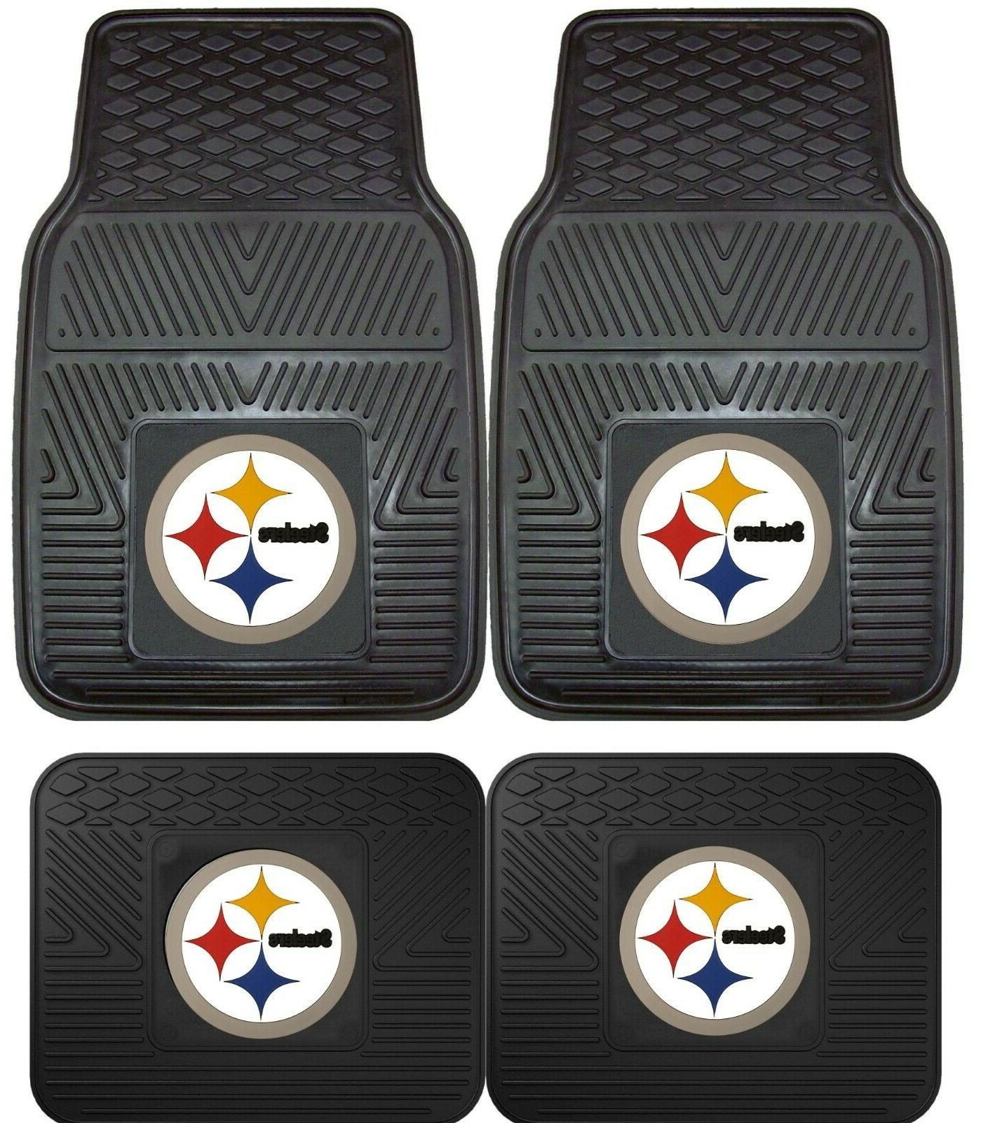 pittsburgh steelers heavy duty floor mats 2