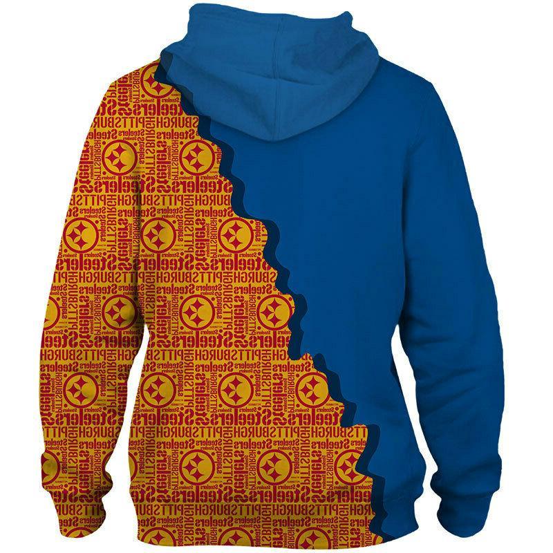 Pittsburgh Hoodie Sweatshirt Hooded Sport Fans