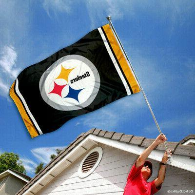 Pittsburgh Outdoor NFL 3 x 5