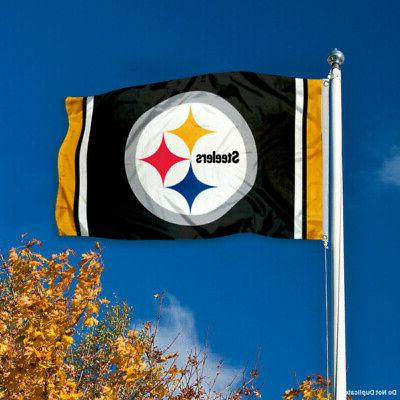 Pittsburgh Large NFL Banner