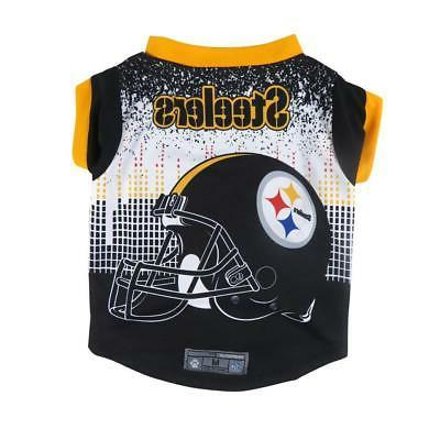 pittsburgh steelers extra small pet performance t