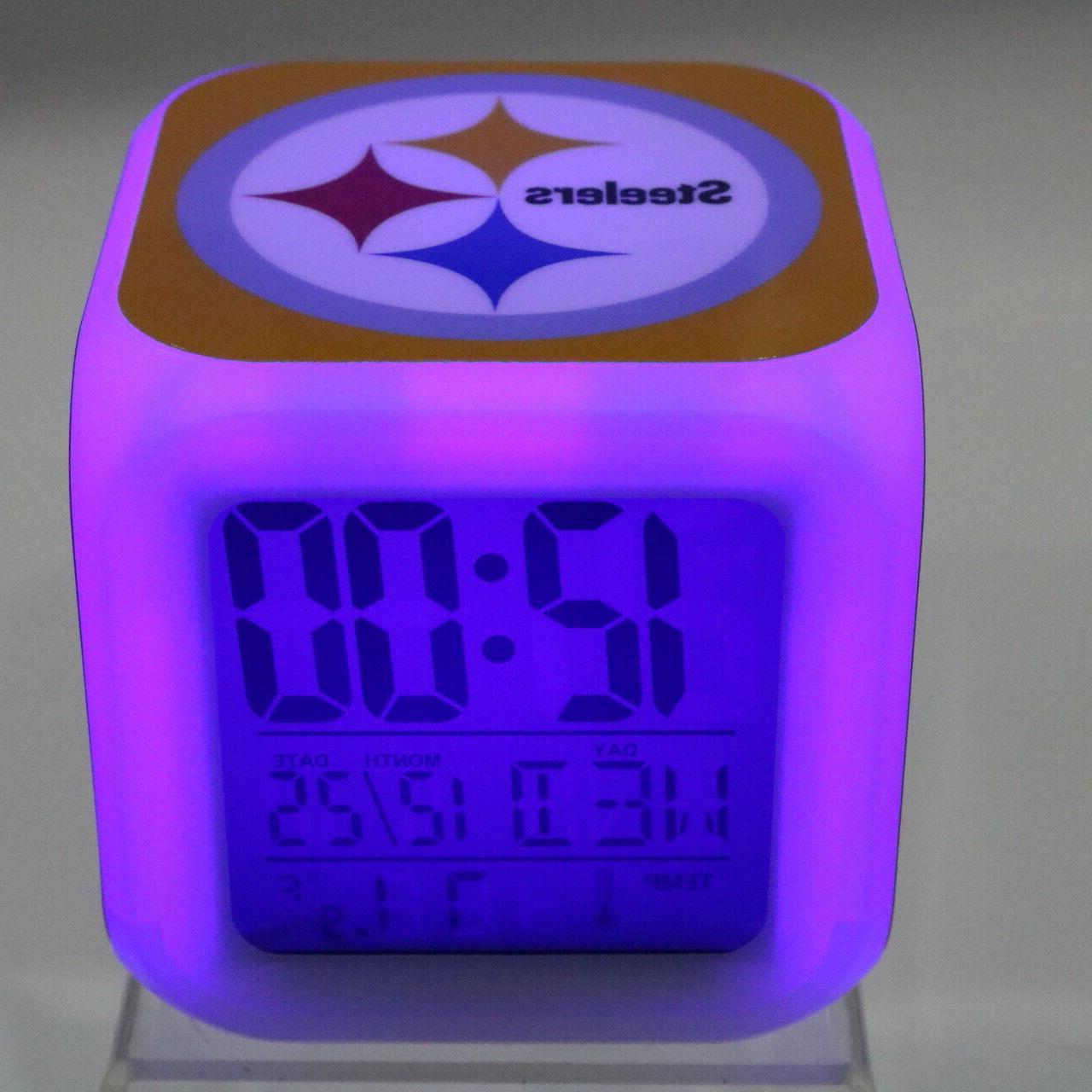Pittsburgh Steelers Alarm Watch Decor Roethlisberger