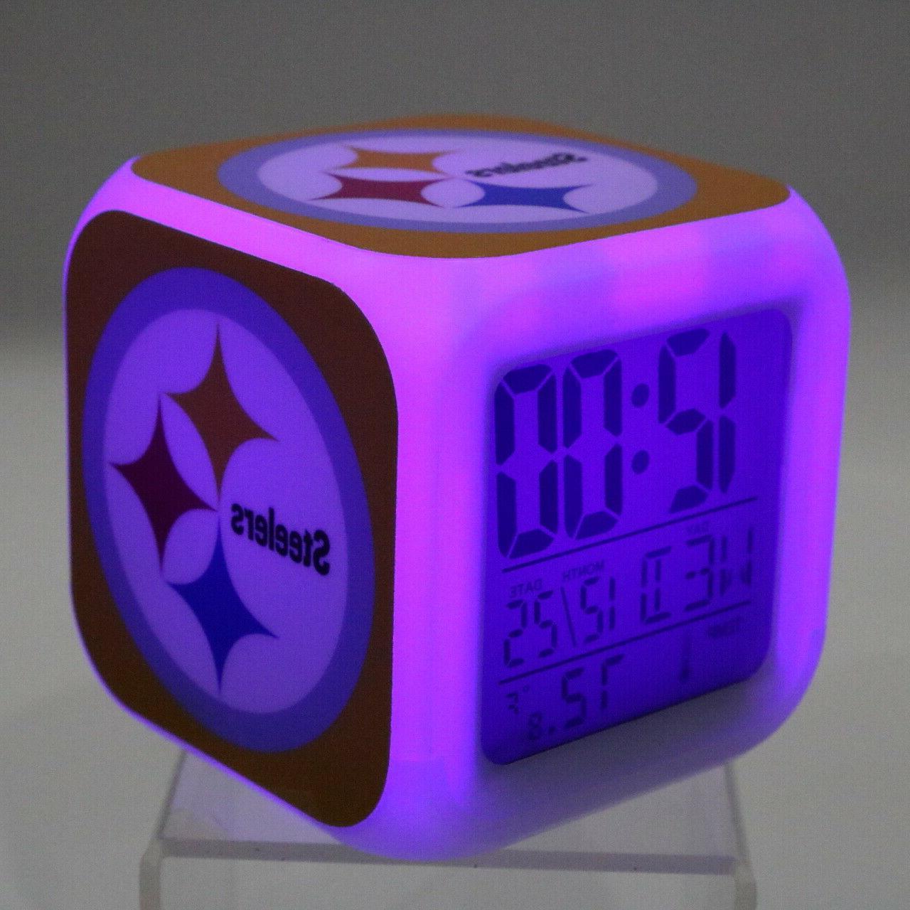 Pittsburgh Steelers Alarm Decor Gift