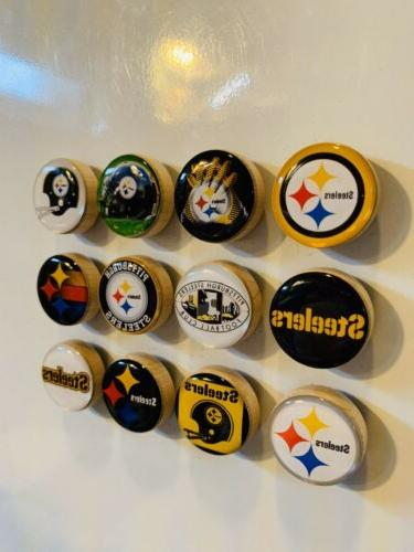 Pittsburgh Steelers Magnets Set FREE SHIPPING