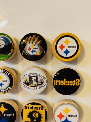 Pittsburgh Steelers Magnets - Set 12 FREE