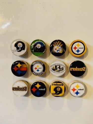 pittsburgh steelers magnets set of 12 free
