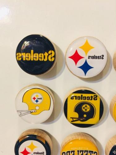 Pittsburgh Steelers Set Of 9 FREE