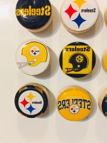 Pittsburgh Steelers Magnets - Set FREE SHIPPING