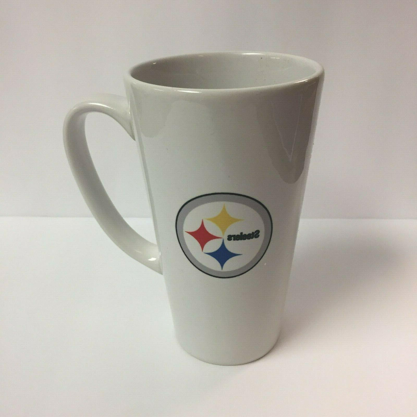 pittsburgh steelers new tall latte coffee mug