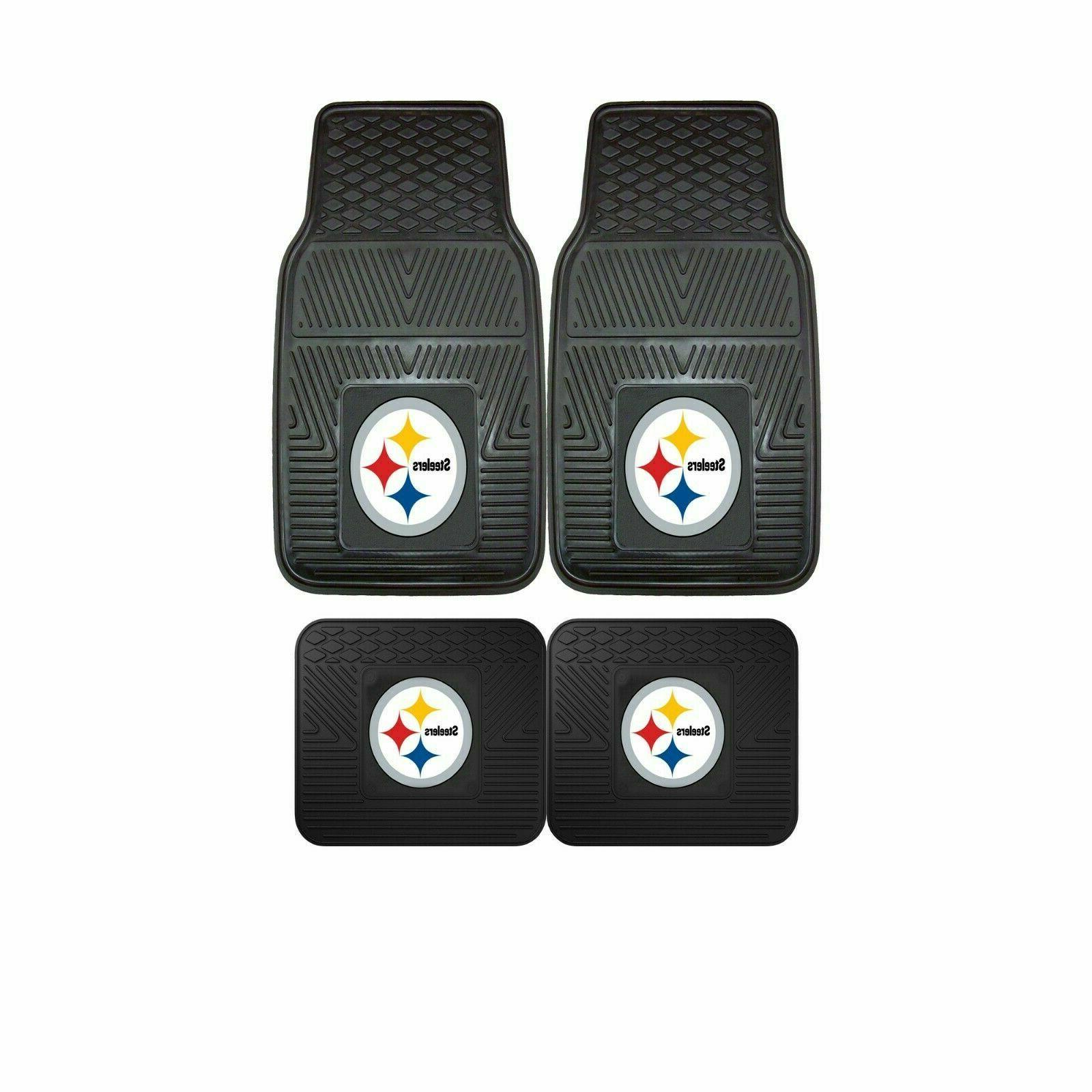 pittsburgh steelers nfl 2pc and 4pc mat