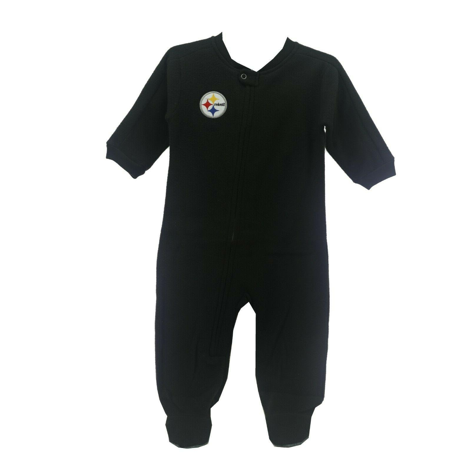 pittsburgh steelers nfl apparel infant baby size