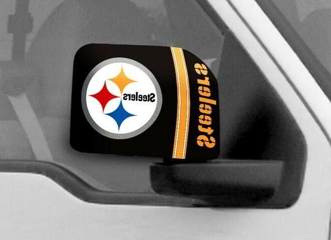pittsburgh steelers nfl car truck mirror covers