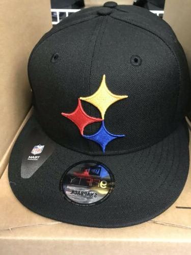 pittsburgh steelers nfl elements logo snapback hat