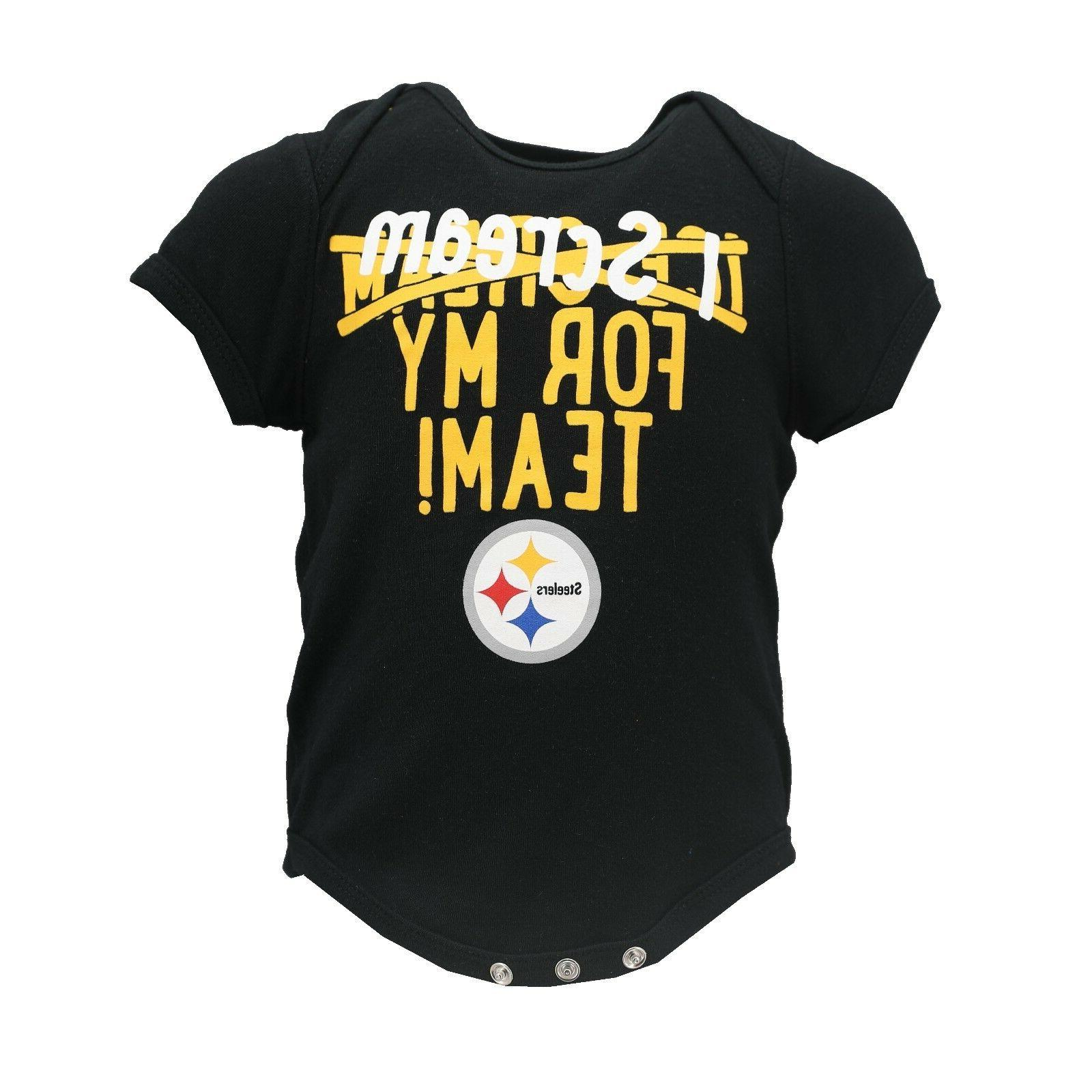 pittsburgh steelers nfl official apparel infant baby