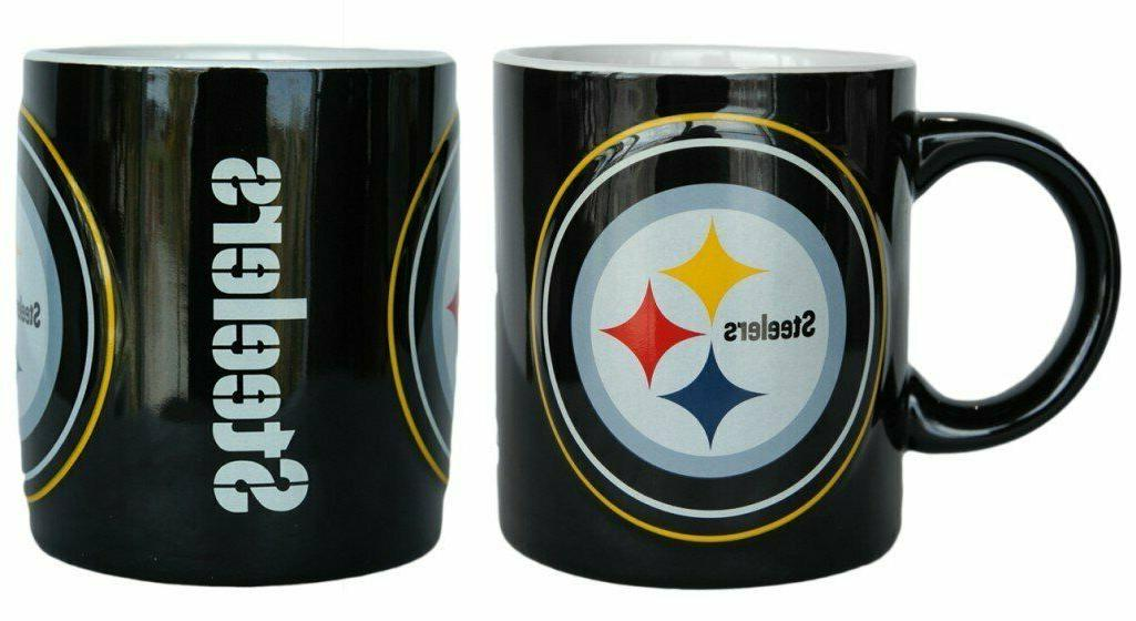pittsburgh steelers nfl sculpted warm up coffee