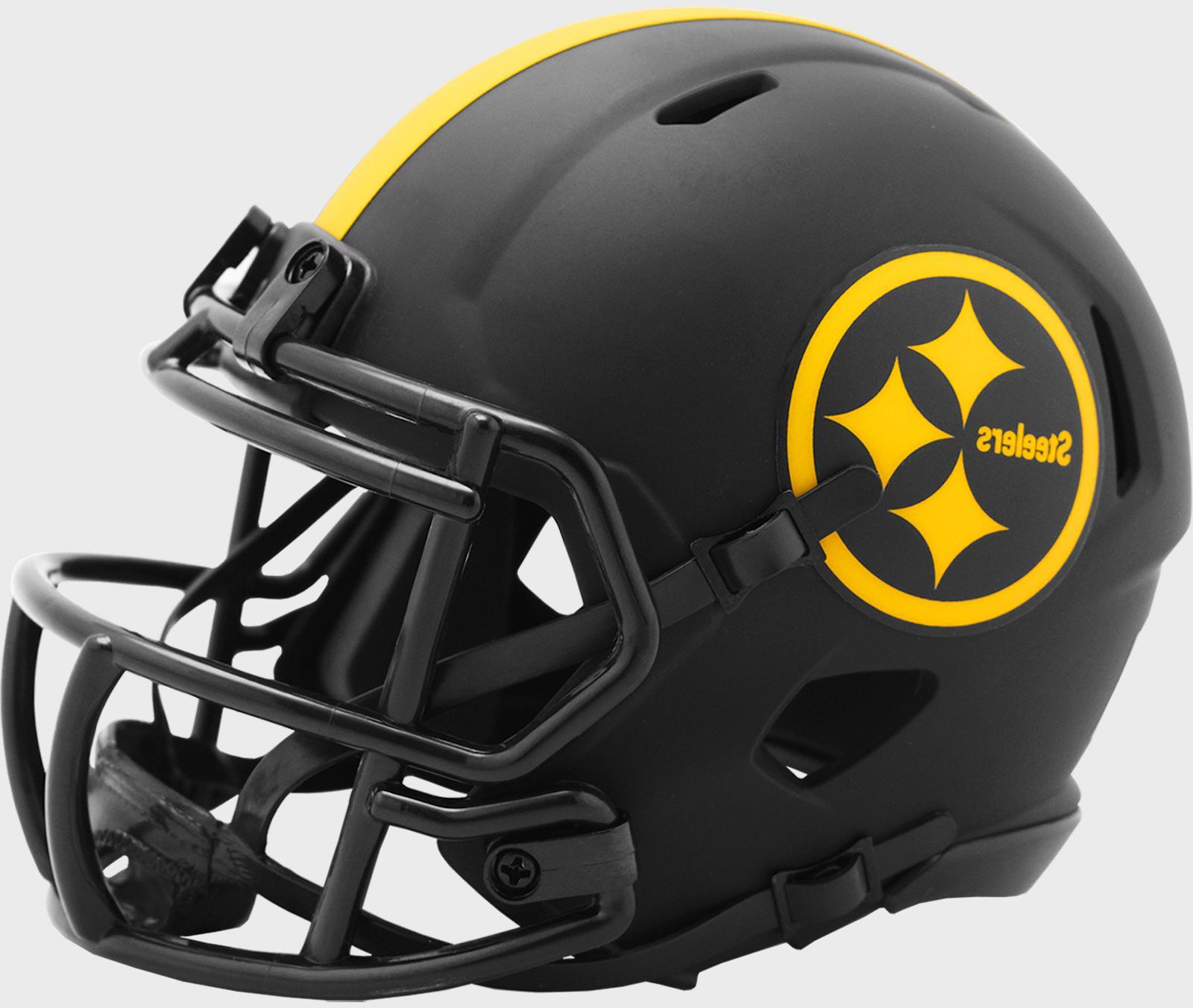 pittsburgh steelers nfl speed mini football helmet