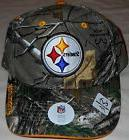 PITTSBURGH STEELERS REALTREE AP MEN'S CAP HAT ONE SIZE CAMO