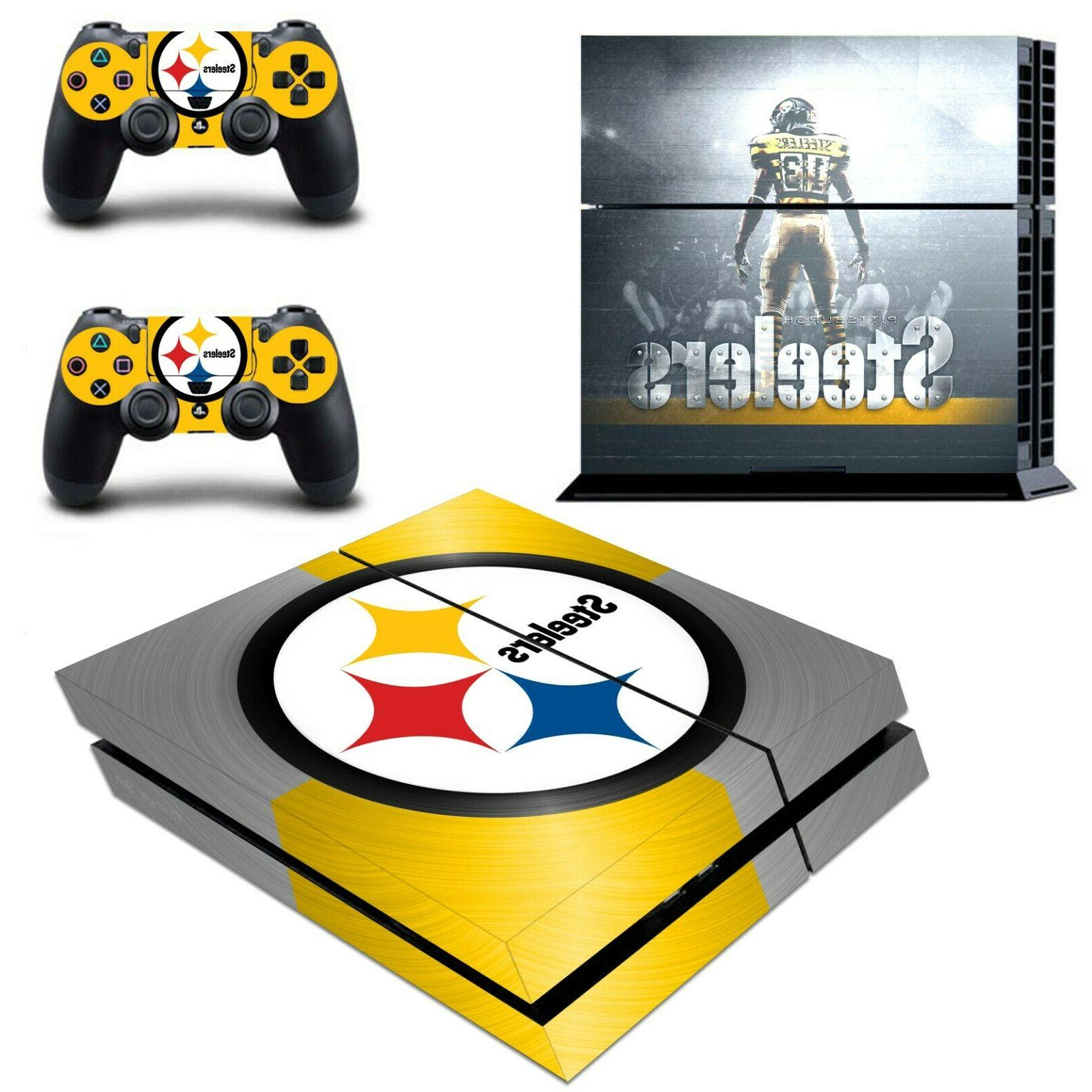 Pittsburgh Steelers Skin Decals Stickers for Original PS4 Co