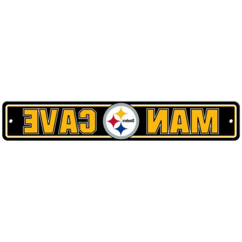 pittsburgh steelers street sign new 4 x