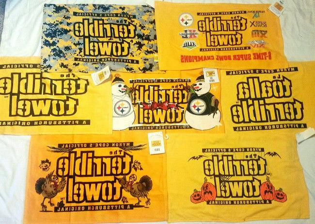 pittsburgh steelers terrible towel 23 choices