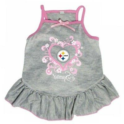 pittsburgh steelers too cute squad pet dress