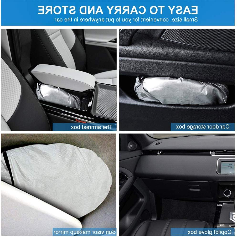 for Pittsburgh Windshield Sunshade Fabric Strong Sunlight