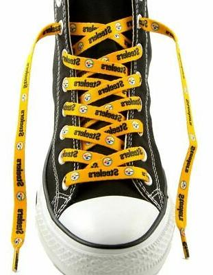 pittsburgh steelers yellow pair of 54 shoe