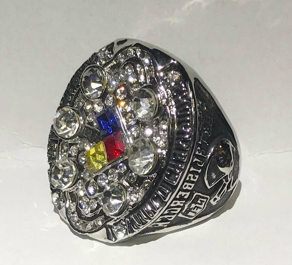 steelers roethlisberger championship collector ring size 11