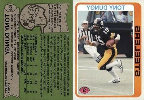 tony dungy pittsburgh steelers 1978 custom rookie
