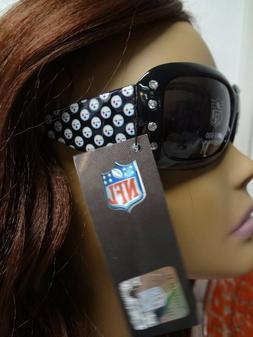 Ladies Bling NFL Licensed Steelers Rhinestone Sunglasses Gir