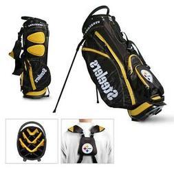 Licensed NFL Pittsburgh Steelers Team Golf Stand Bag