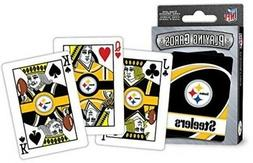 Masterpieces Pittsburgh Steelers Playing Cards