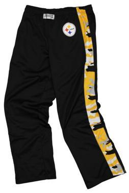 Zubaz Men's NFL Pittsburgh Steelers Camo Print Stadium Pants
