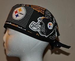 Men's NFL Pittsburgh Steelers Scrub Cap/Hat One Size Fits Mo