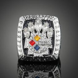 Men's Sport Ring 2005 Pittsburgh Steelers Championship Ring