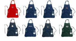 Mens Grilling Utility Apron With Bottle Opener , Bottle Towe